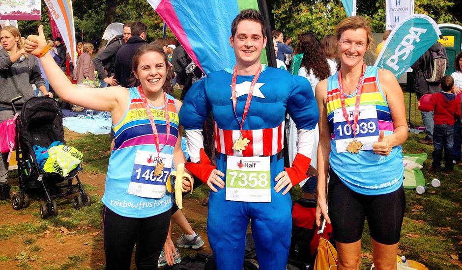 Royal Parks Foundation Half Marathon 2015
